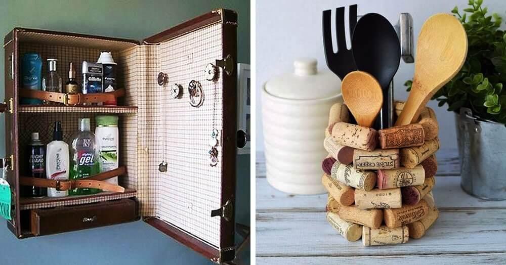 Поделки из старых вещей для дома и дачи - 72 фото идеи как дать жизнь старым вещам