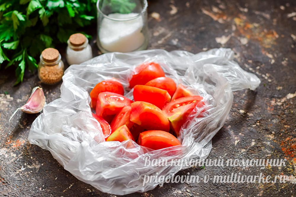 ТОП 10 быстрых пошаговых рецептов малосольных помидор на зиму в пакете
