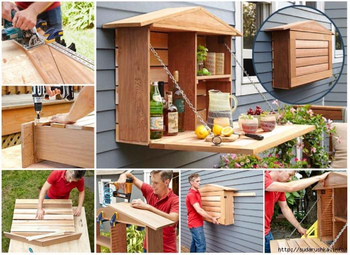 Технология создания своими руками мебели из картона, и наглядные схемы и выкройки