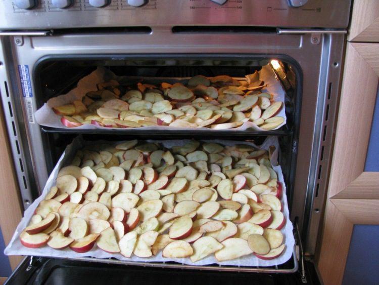 Как сушить яблоки в домашних условиях, если нет духовки? русский фермер