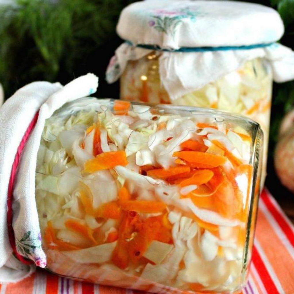 Квашеная капуста на зиму - простые и вкусные рецепты.