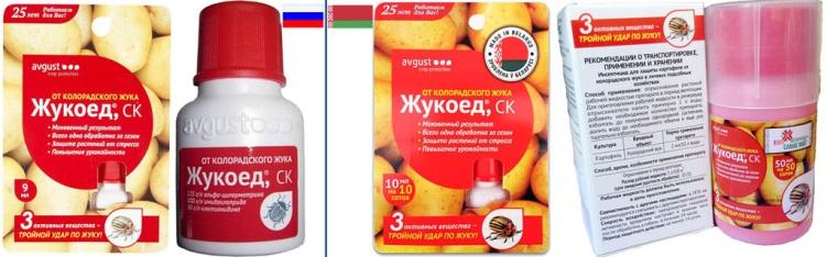 Описание и инструкция по применению препарата от колорадского жука «жукоед»