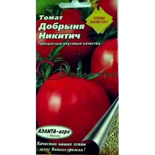 """ᐉ томат """"добрыня никитич"""": описание, урожайность и особенности сорта - orensad198.ru"""