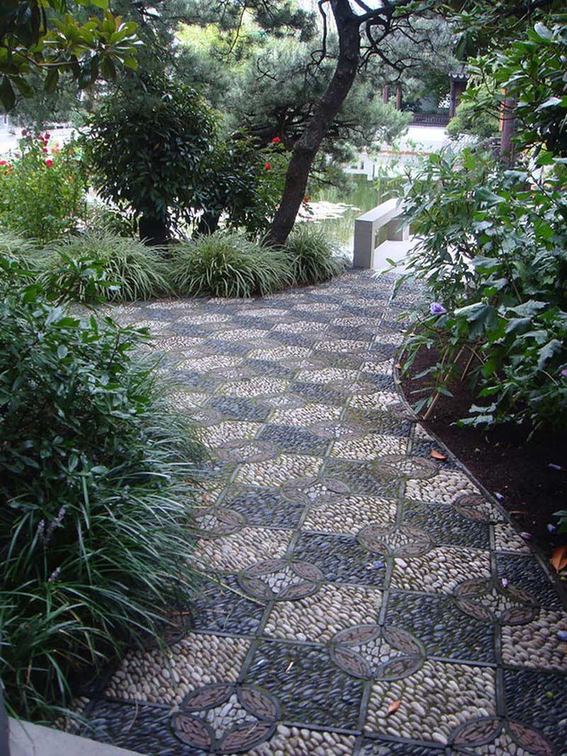 Создаем садовую дорожку из плитняка: виды камней, цены, способы мощения