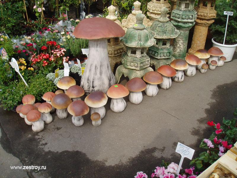 Как сделать декоративные грибы для сада - wikihow