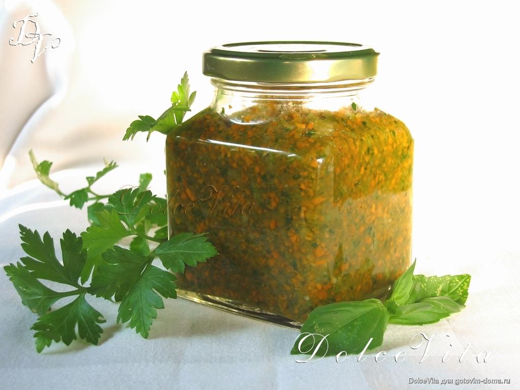 Приправа из петрушки на зиму - пошаговые рецепты заготовок в домашних условиях с фото