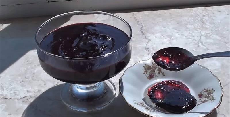 Варенье желе из черной смородины на зиму