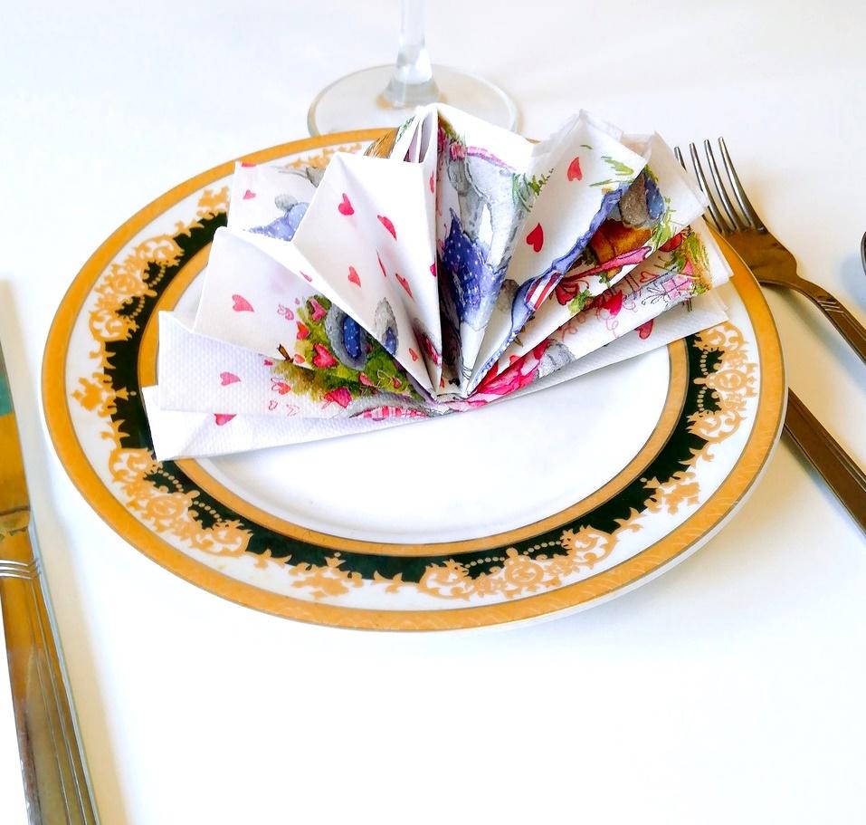 Оформление блюд к праздничному столу своими руками