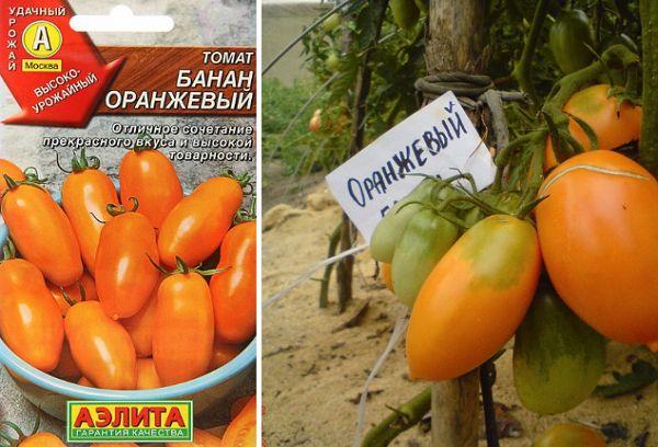 Томат банан (красный, розовый, желтый): описание сорта, отзывы