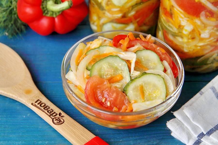 Закуски из овощей на зиму: пошаговые рецепты заготовок на зиму