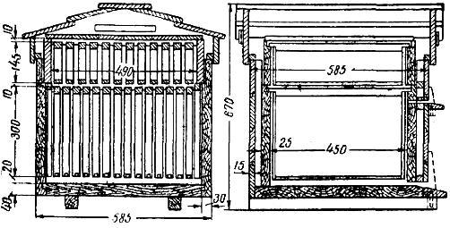 Рамки для ульев: описание, соотношение сторон и лучшие конструкции