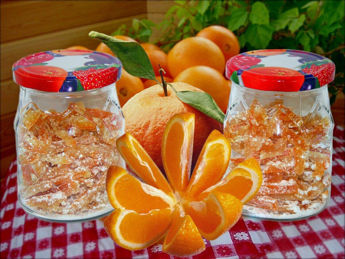 Апельсиновые цукаты: рецепты, польза и вред   food and health