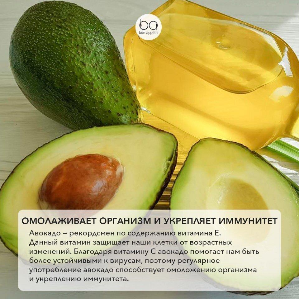 Масло авокадо — применение, свойства и польза   здоровье и красота