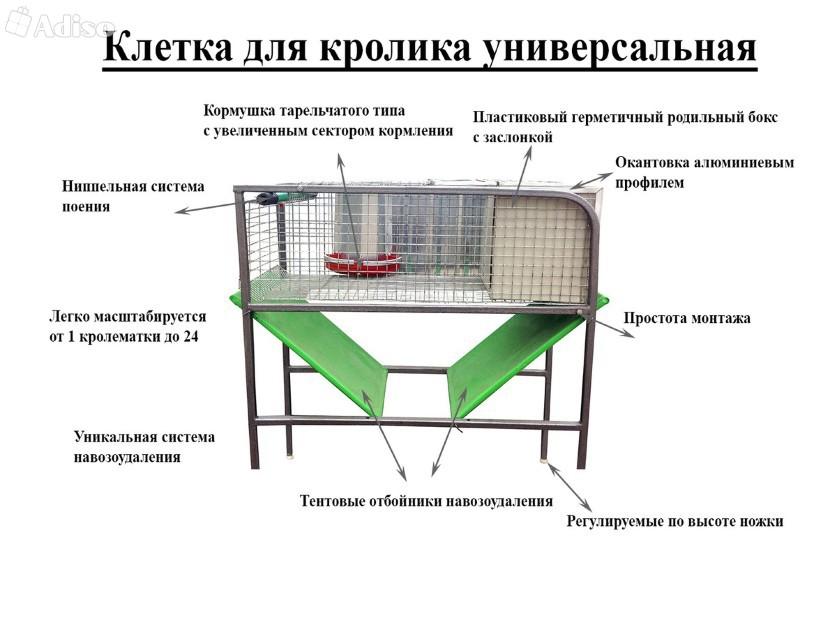 Крольчатник: виды, строительство своими руками, оригинальные идеи