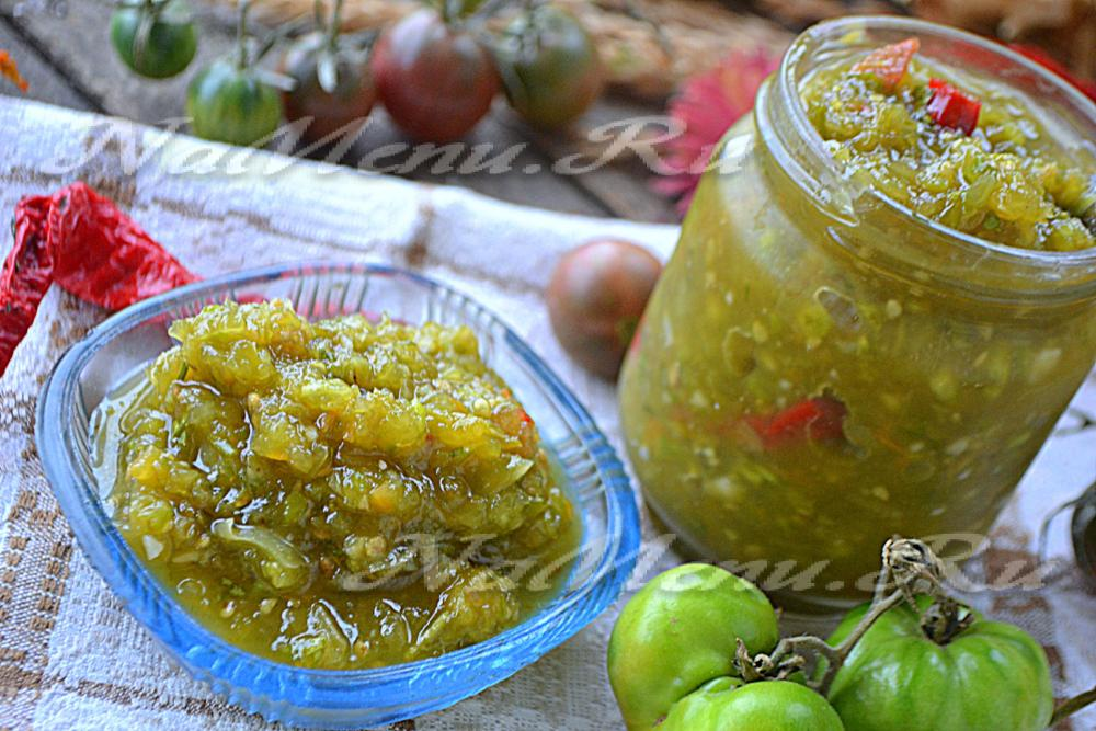 Аджика зеленая: классический рецепт приготовления