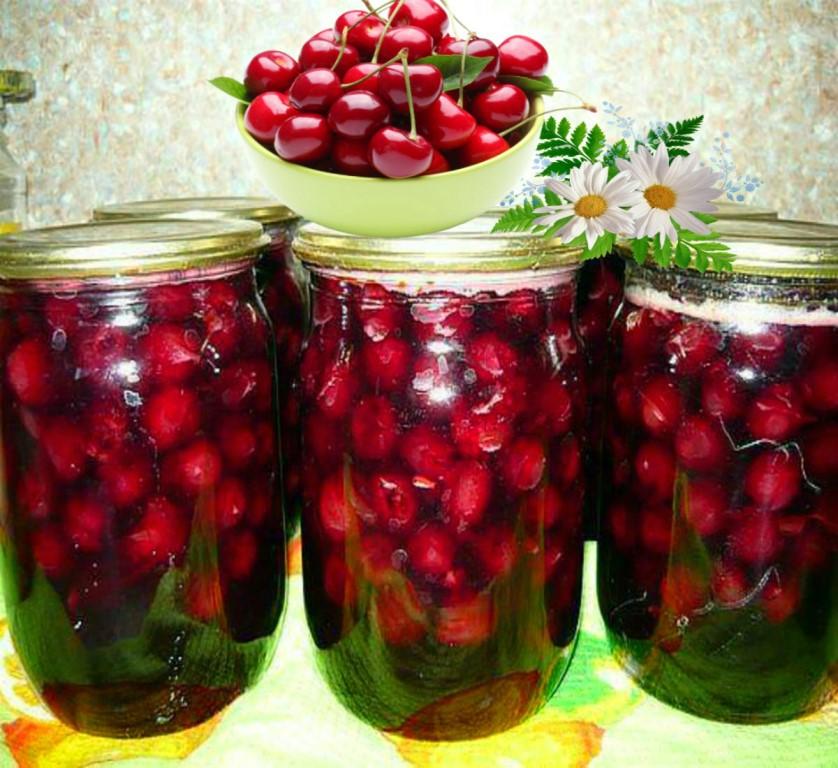11 пошаговых рецептов приготовления заготовок из вишни на зиму