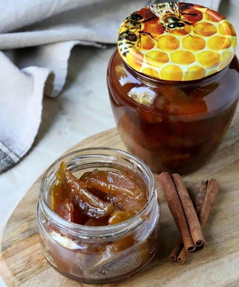 Как варить яблочное варенье дольками -  рецепты в сиропе с апельсином, лимоном и корицей