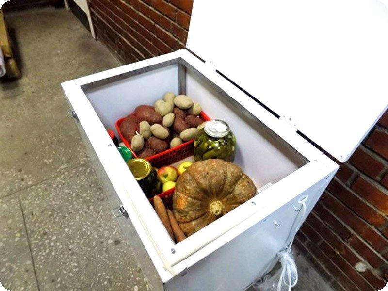 Как можно сохранить овощи на балконе зимой