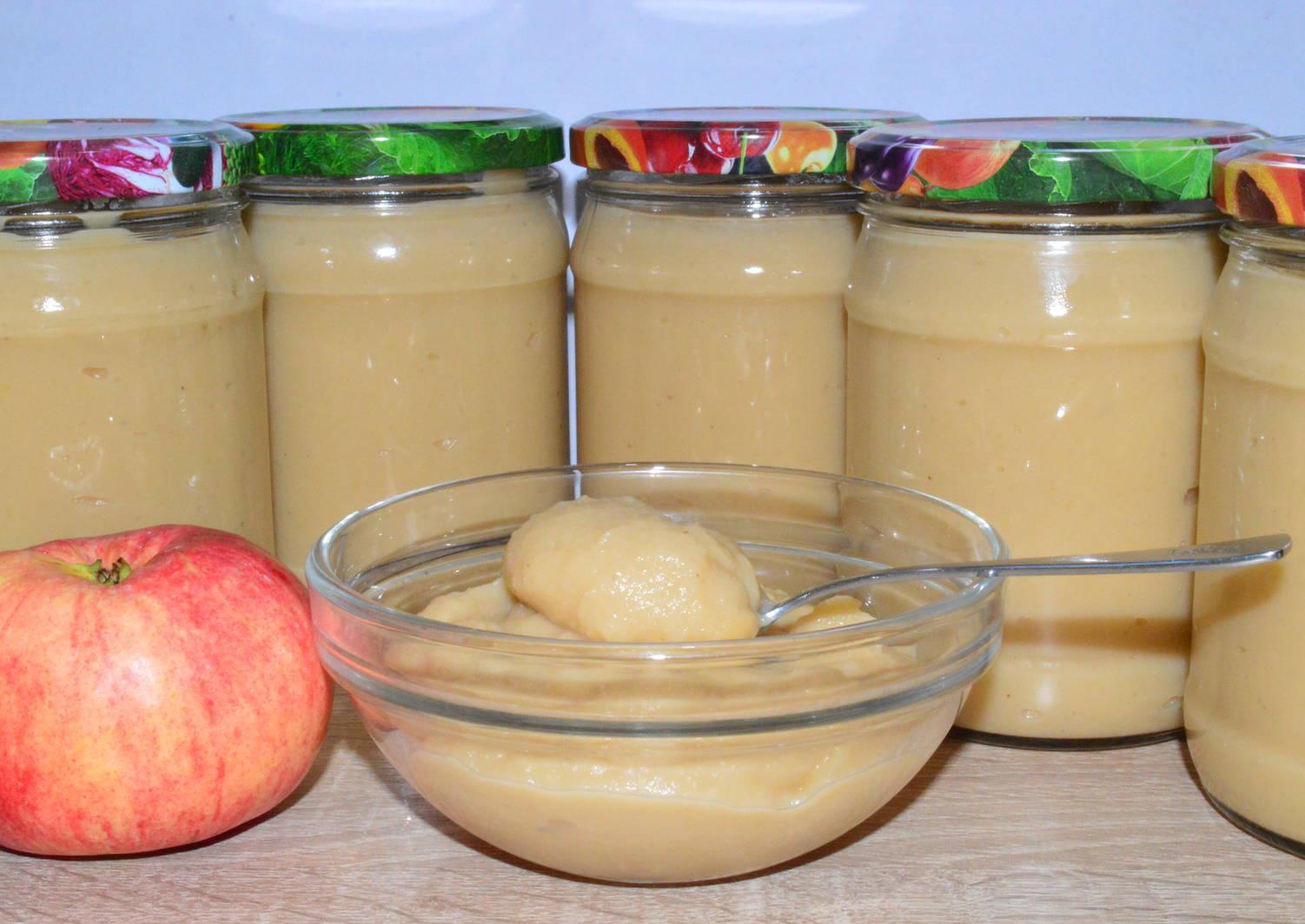 Пюре из яблок в домашних условиях на зиму: 12 рецептов