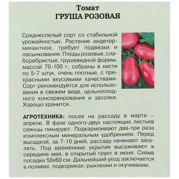 Томат розовая груша - мыдачники