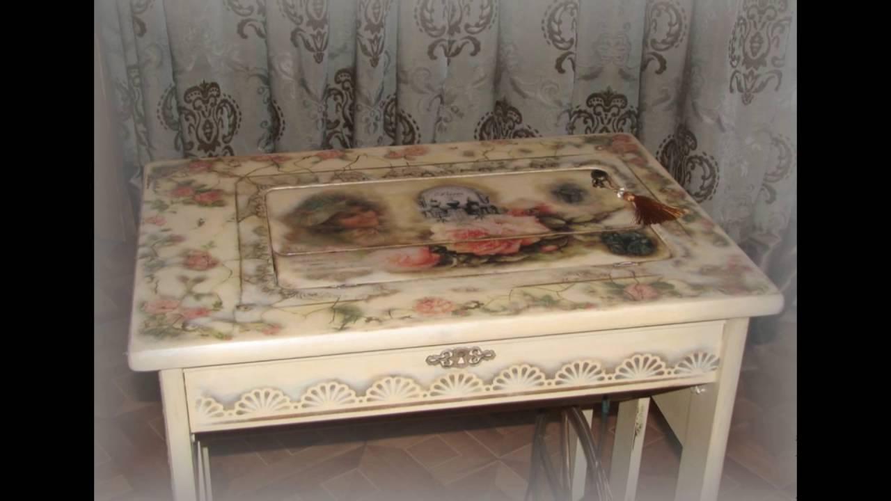 Декупаж стола для начинающих: 105 фото и видео как правильно украсить старый стол