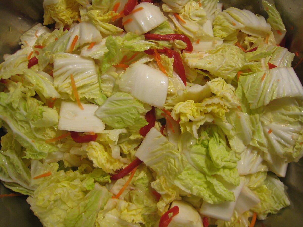 Рецепты для пекинской капусты на зиму: только проверенные заготовки