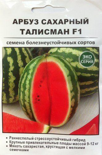 Гибридный арбуз «каристан» с крупными и сладкими плодами