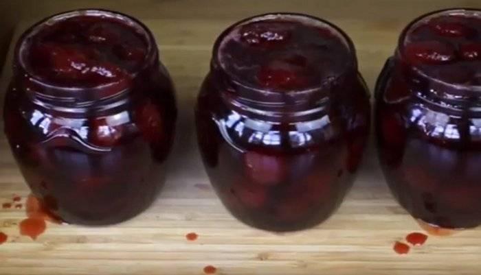 Варенье из черешни без косточек: 10 рецептов на зиму | народные знания от кравченко анатолия