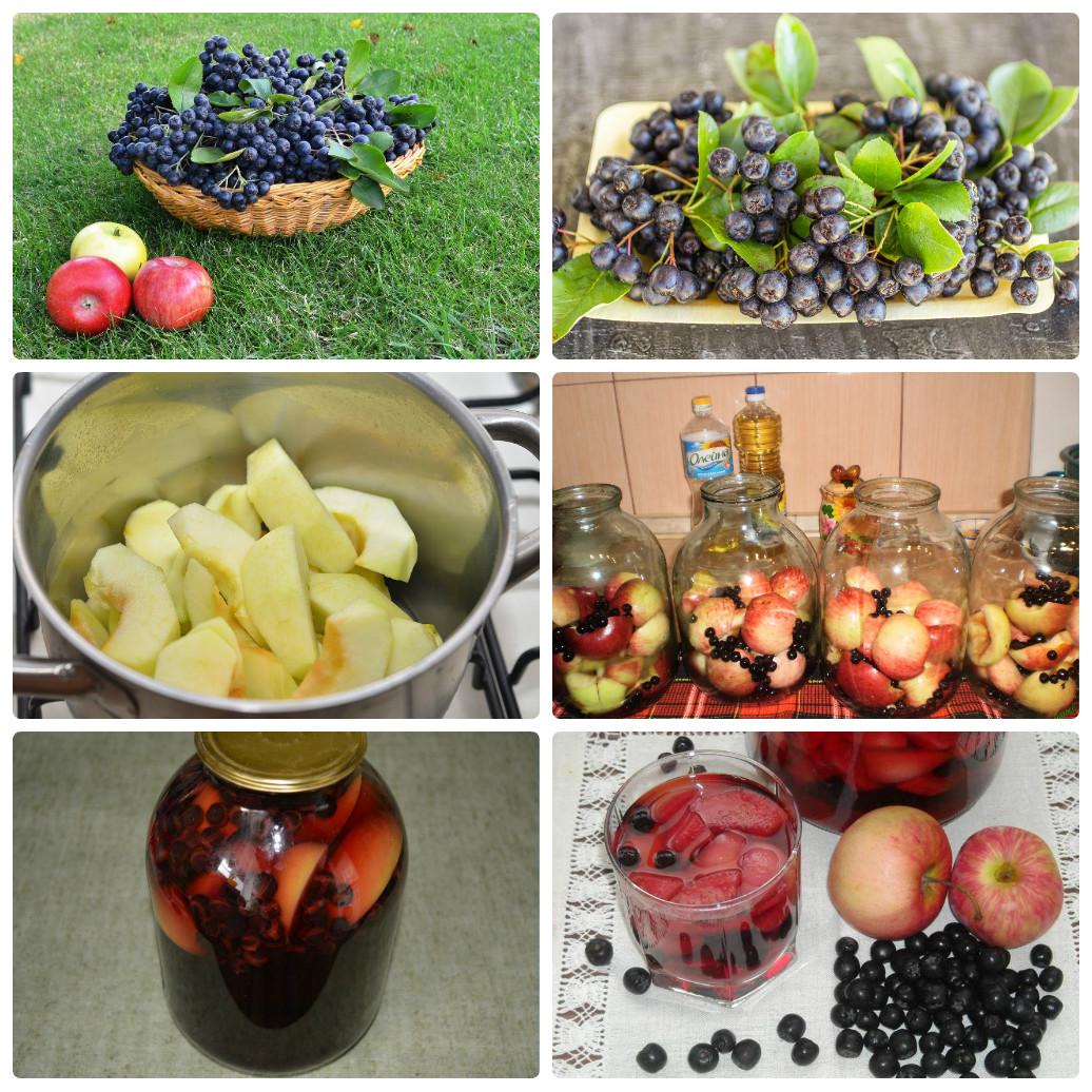 Варенье из яблок с черноплодной рябиной на зиму: рецепты с фото