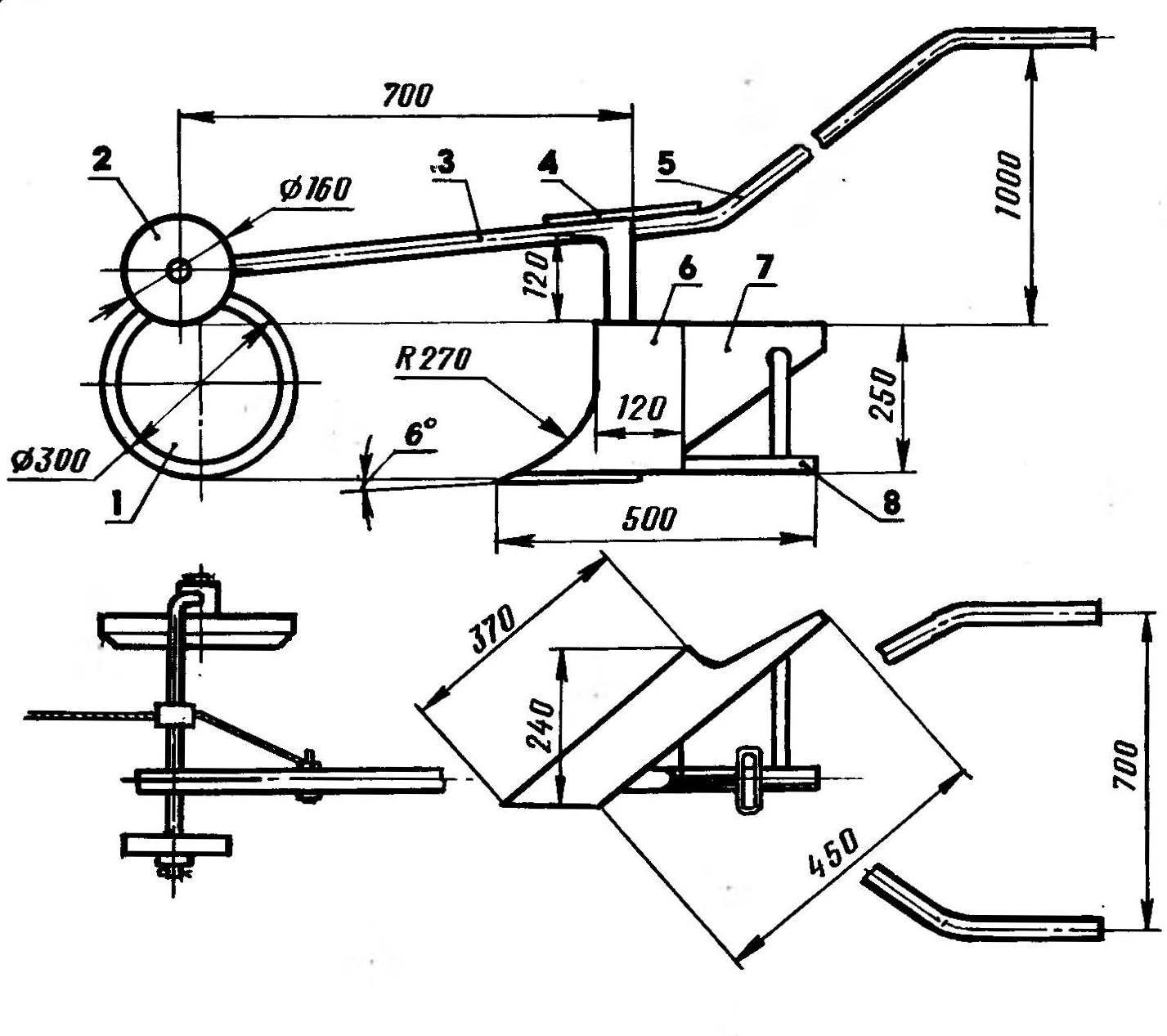 Навесное оборудование для мотоблока своими руками (26 фото): самодельные приспособления, насадки и навески. каких размеров должны быть ежи для мотоблока?