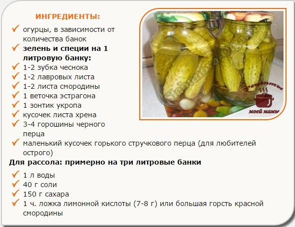 Соленые огурцы на зиму в банках без уксуса под железными крышками - рецепты