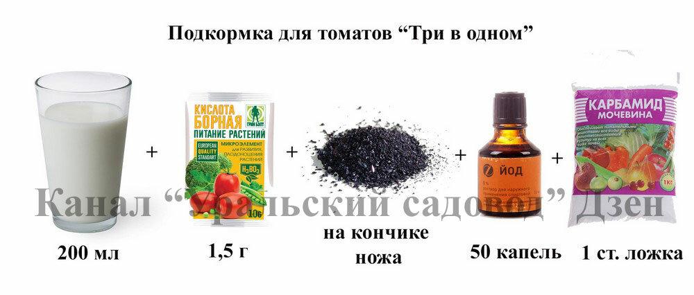 Подкормка капусты йодом - в рассаде