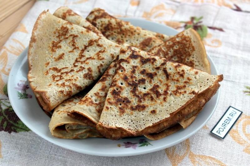 Диетические овсяные блины: идеальный пп-завтрак