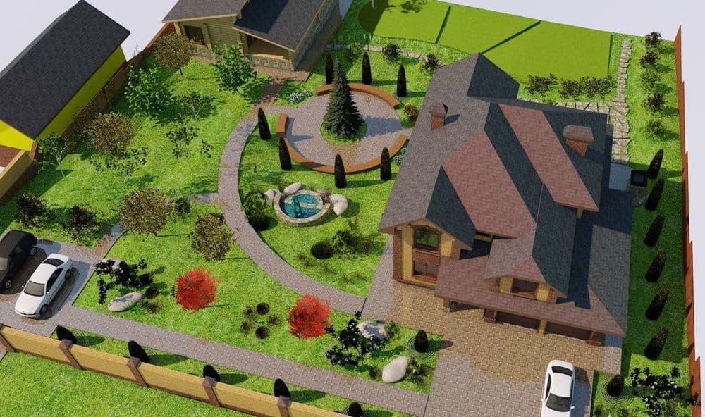 Ландшафтное проектирование дачного участка (58 фото): проект дизайна участка в китайском стиле площадью 6 и 10 соток