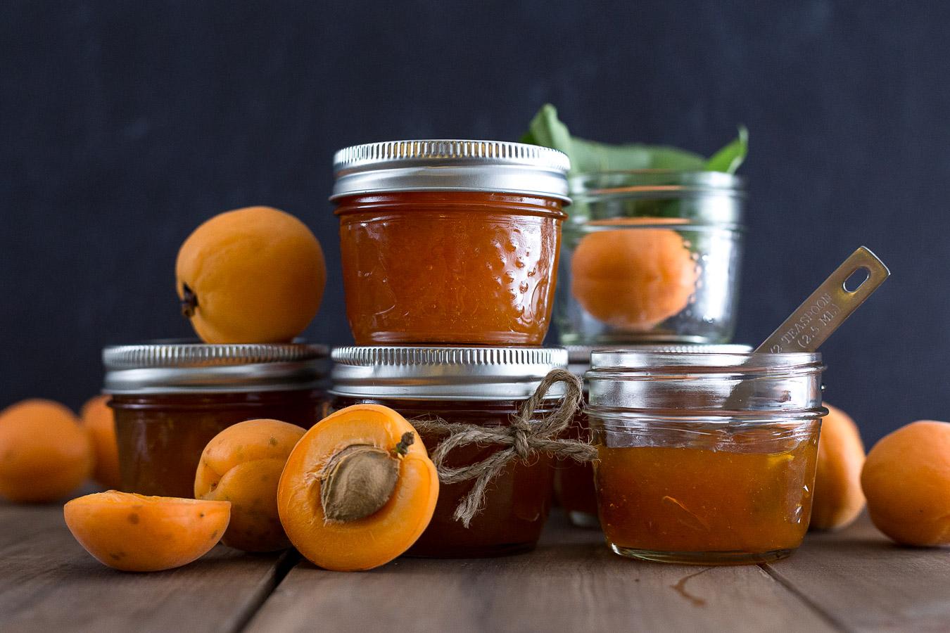 Варенье из спелых и недозревших персиков