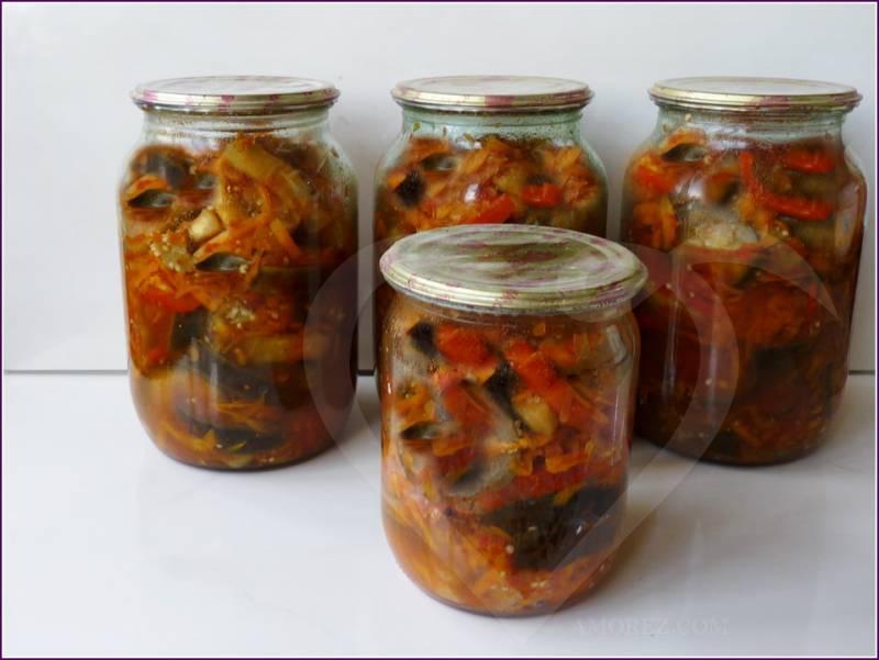 Пошаговые рецепты приготовления консервированной турши на зиму