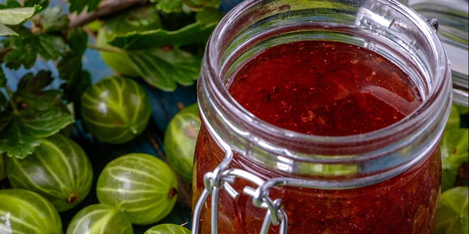 Сырое варенье из крыжовника: 11 лучших рецептов приготовления на зиму