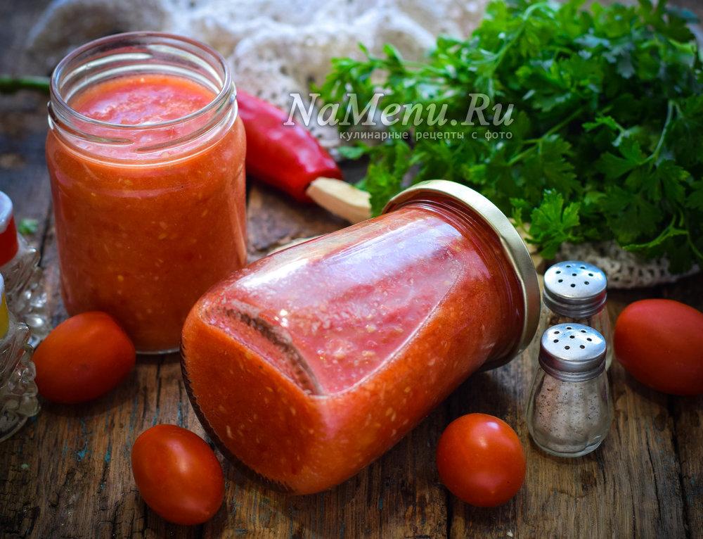 Сырая аджика с хреном и помидорами на зиму рецепт с фото пошагово и видео - 1000.menu