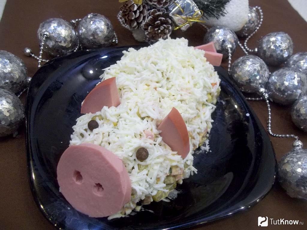 Салаты на новый год 2019, рецепты с фото, вкусные и простые салаты на год свиньи