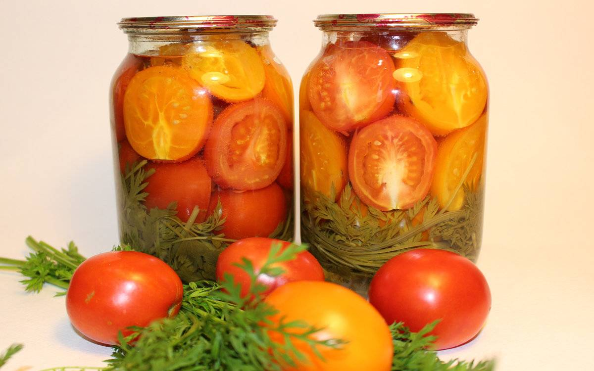 Консервированные помидоры через сколько дней можно кушать