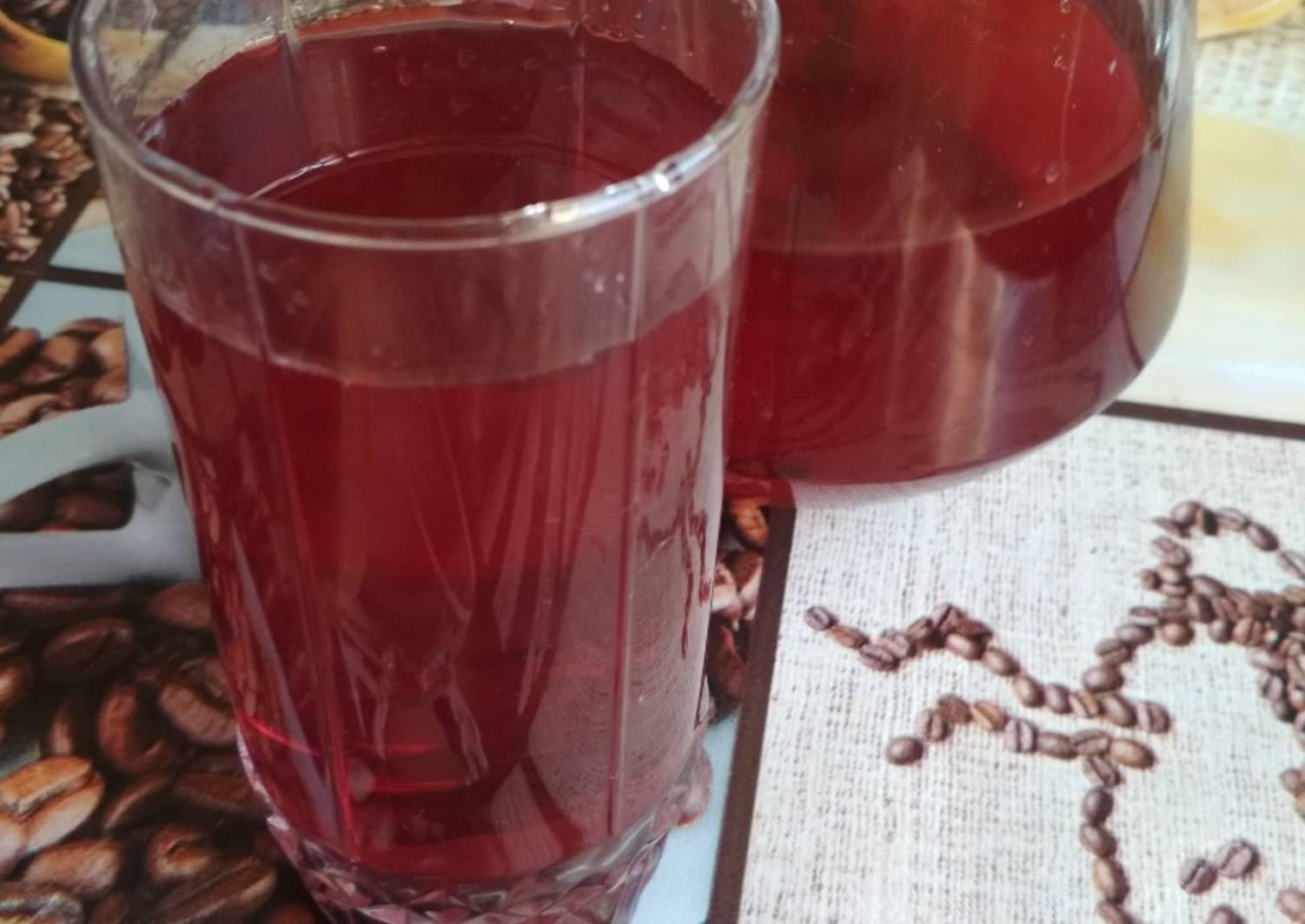 Компот из яблок и черноплодной рябины на зиму пошаговый рецепт