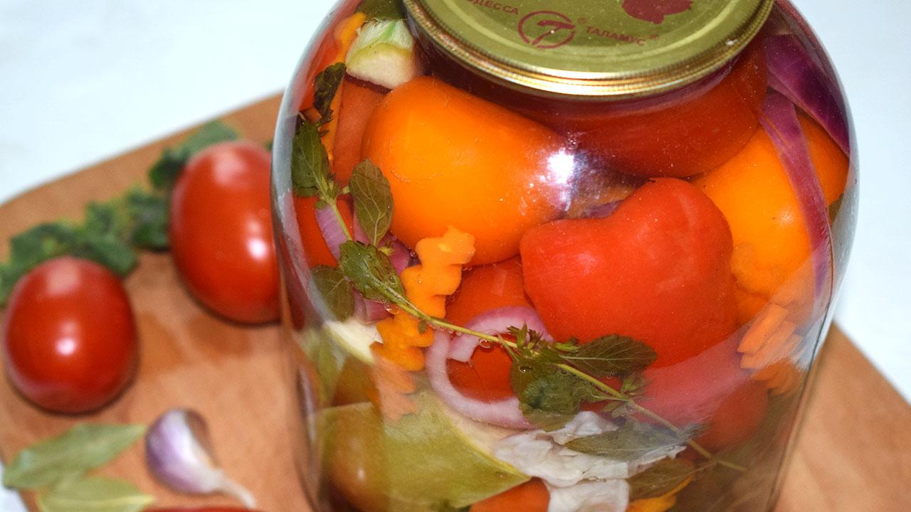 ТОП 19 рецептов приготовления на зиму ассорти из различных овощей