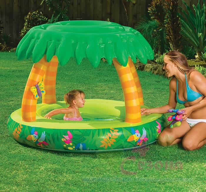 Как выбрать бассейн для ребенка на дачу. масса советов
