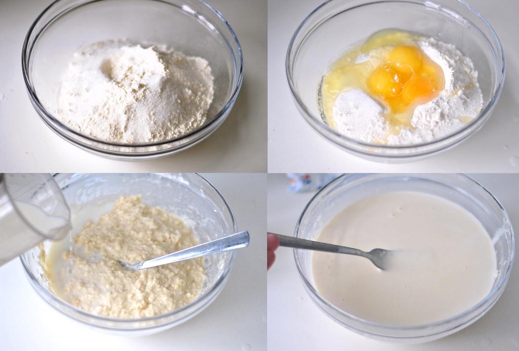 Идеальные блины на молоке - получаются тонкие с дырочками