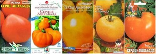Томат сердце ашхабада характеристика и описание сорта