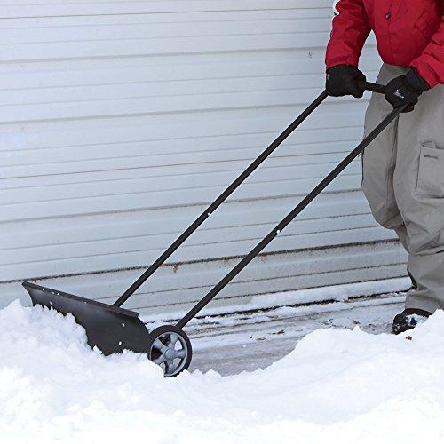 Снегоуборочная лопата для дома: 65 фото популярных вариантов