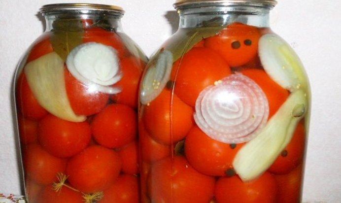 Рецепт маринованных помидоров с лимонной кислотой - 7 пошаговых фото в рецепте
