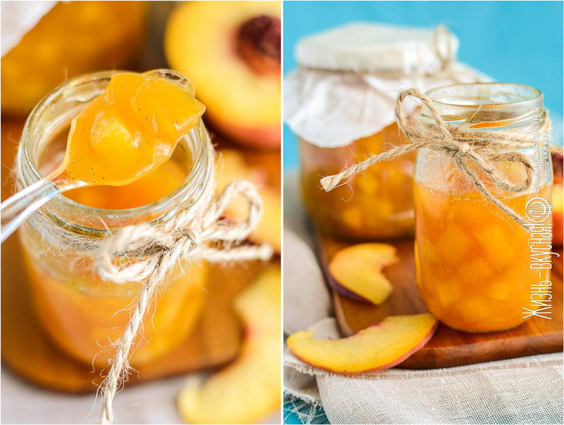 Варенье из персиков на зиму. простые рецепты персикового варенья