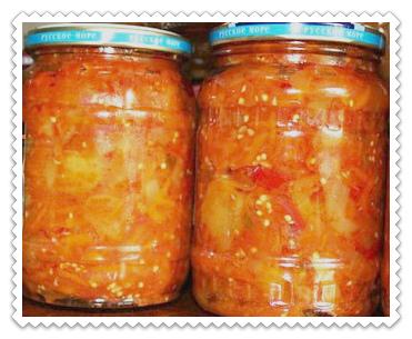 Кабачки в аджике по-тбилисски на зиму обалденные без стерилизации. рецепт кабачковой аджики дядя ваня