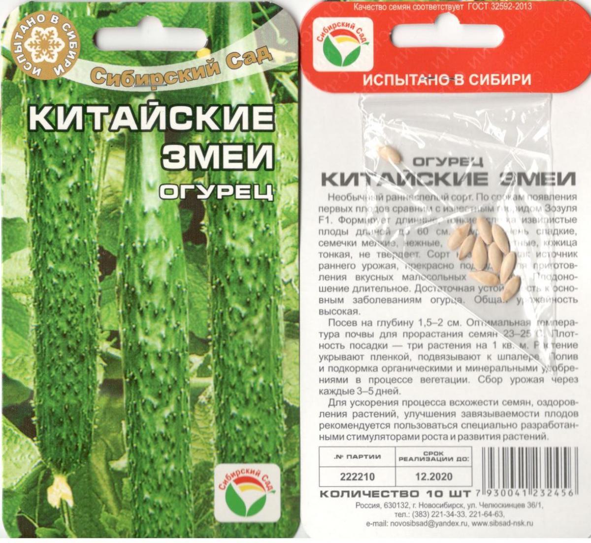 Китайский огурец. описание, выращивание, сорта, отзывы. фото — ботаничка.ru